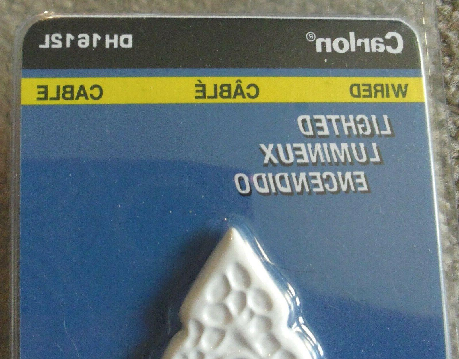 Carlon White Doorbell for Buzzers #DH1612L