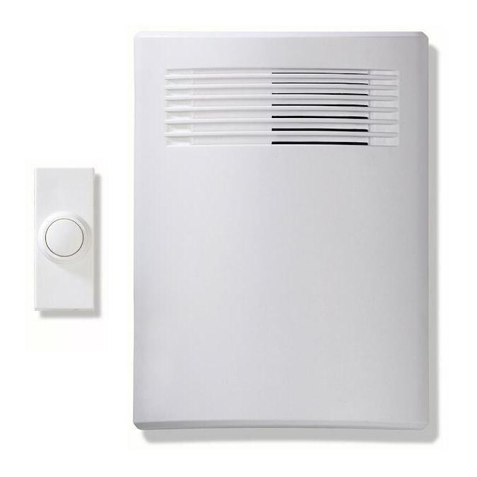 white wireless doorbell kit 0077315