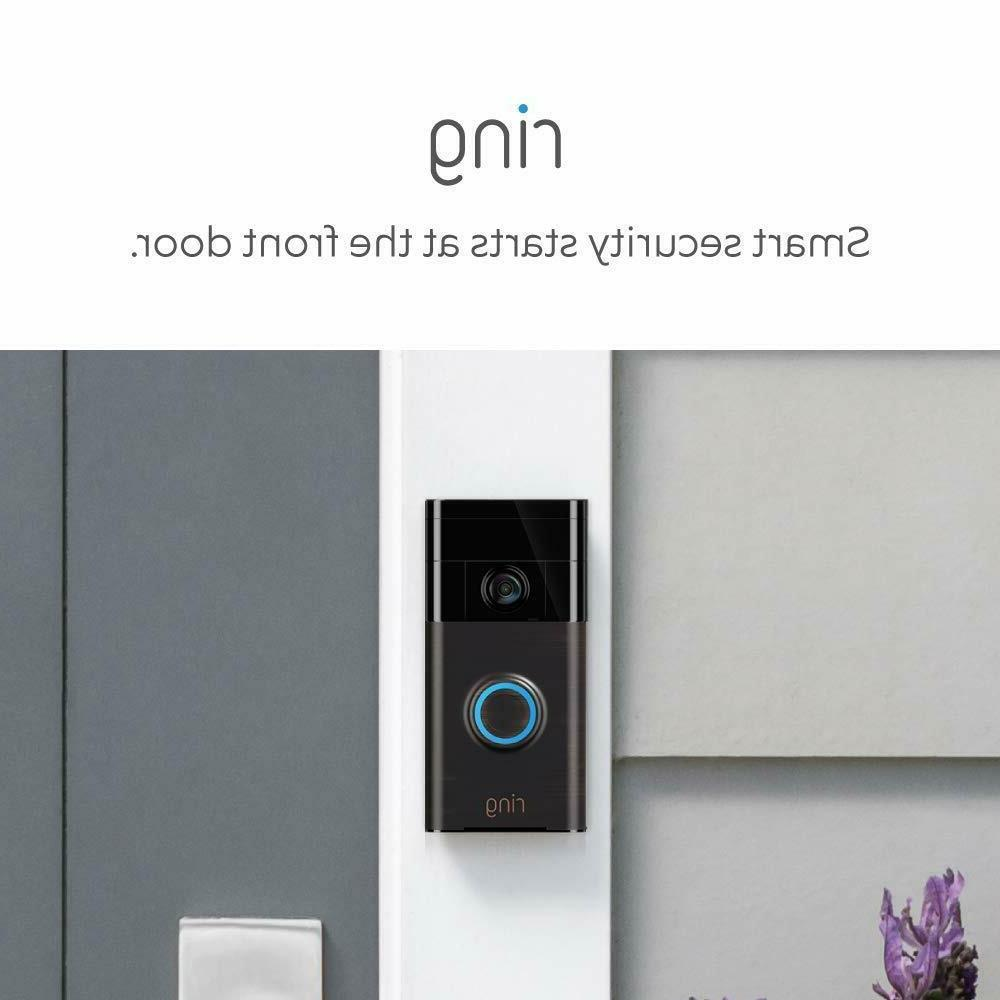 Ring Wi-Fi Doorbell in Works NEW