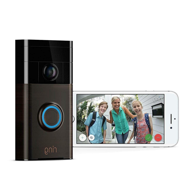Ring Video Doorbell Wi-Fi Enabled HD Camera Amazon Alexa Ven