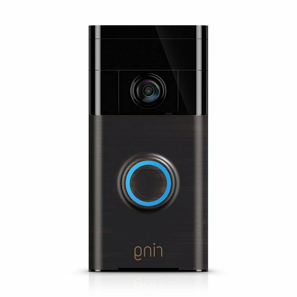 wi fi enabled video doorbell in venetian