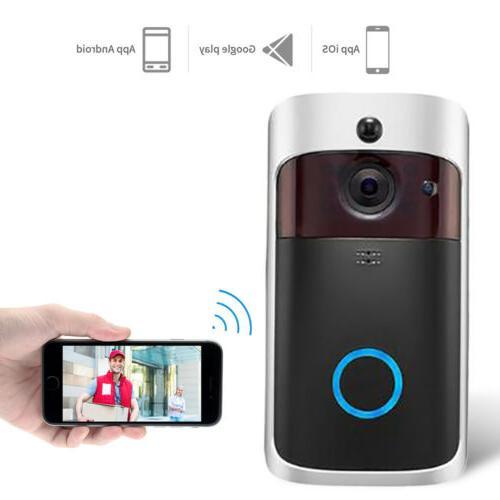 Smart Wireless Phone Door Bell Video Intercom Ring Doorbell
