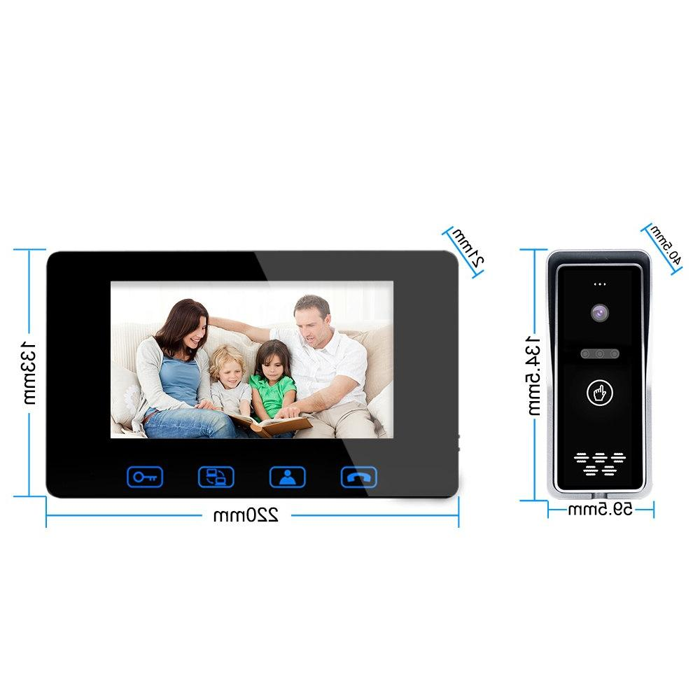 "Wired 7""Color LCD Digital Camera IR System"