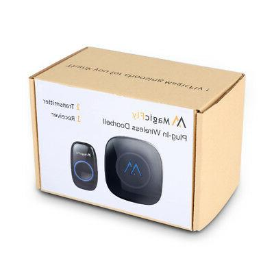 Magicfly Wireless Doorbell Kit 2 Transmitters & Receivers