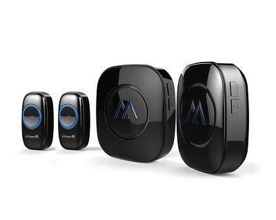 wireless 1000 ft doorbell kit 52 tones