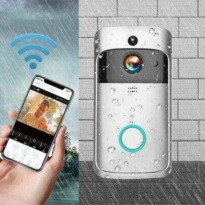 Wireless Doorbell Smart Door Intercom Security