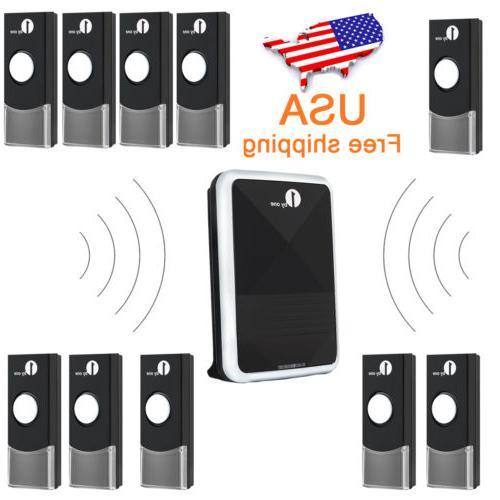 1byone Wireless Door Chime Battery