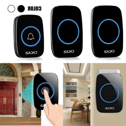 wireless bell doorbell waterproof remote plug bell