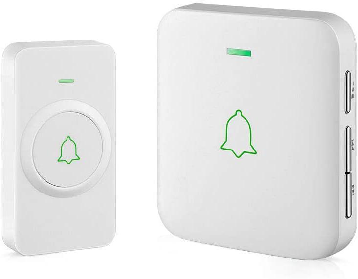 Wireless Door Bell, Avantek Cw-11 Mini Waterpoof Doorbell Ch