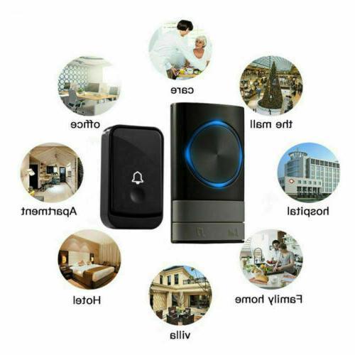 Wireless Door Bell Latest LED Flash Transmitter
