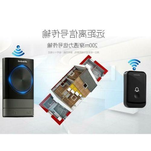 Wireless Latest Loud Chime LED Flash 300m