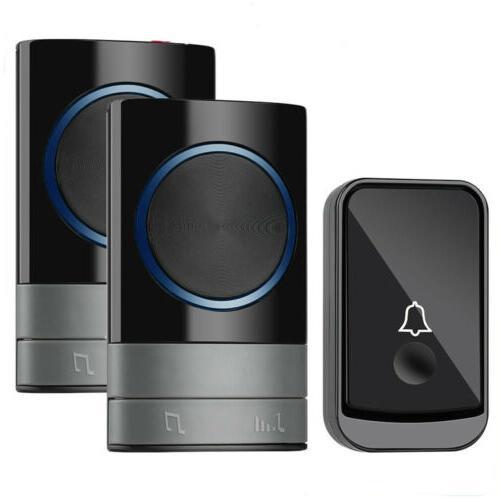 wireless door bell doorbell loud chime led