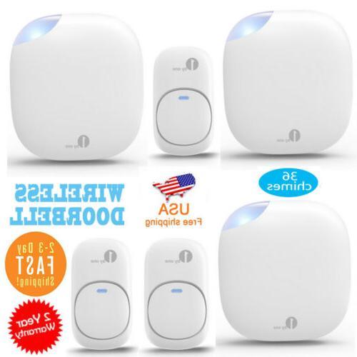 Smart WiFi Doorbell Video Security Bell Receiver