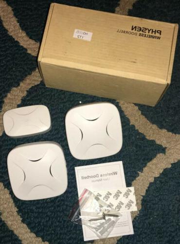 Physen Wireless Doorbell 2 pc