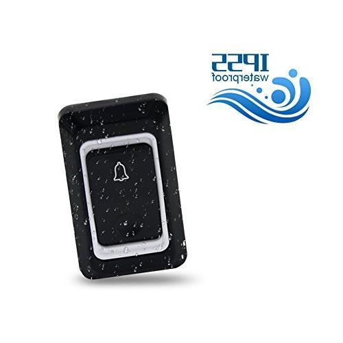 Binwo Wireless Door Kit 1 1 Receiver,1000 Range Operating,CD Chime and Level