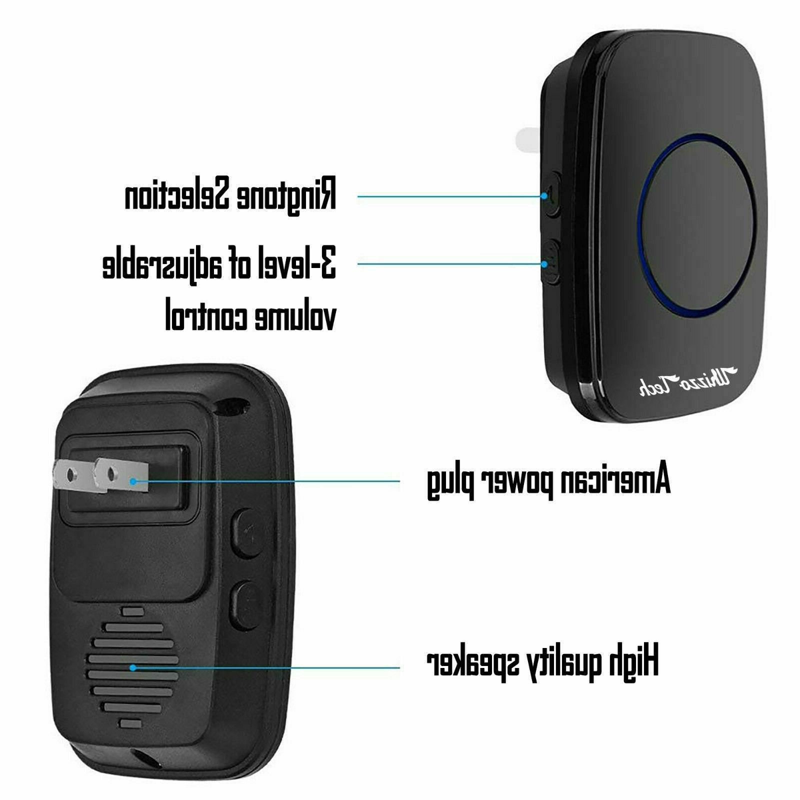 Wireless Operated 2 Button+1 in Receiver