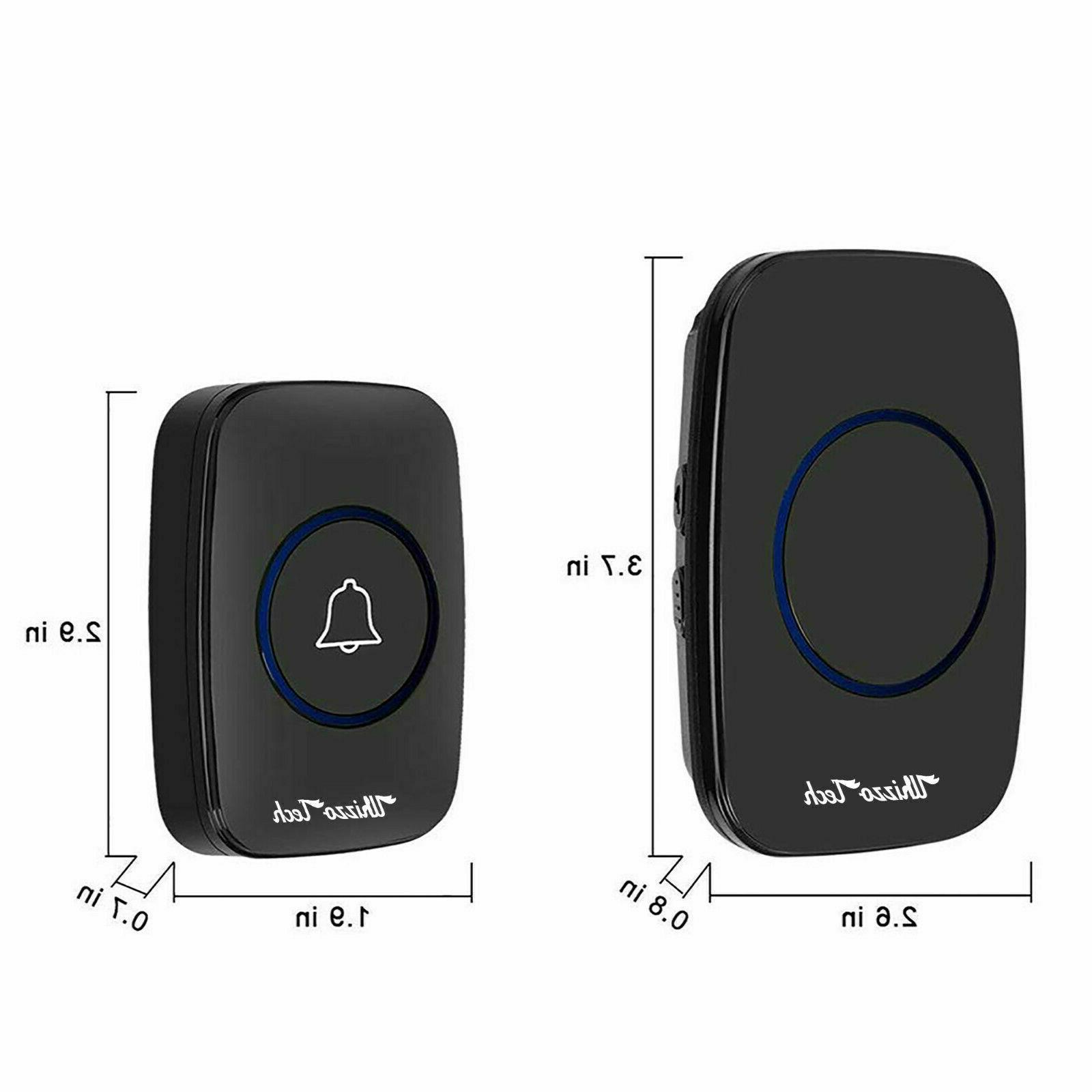 Wireless 2 Remote Button+1 in Receiver