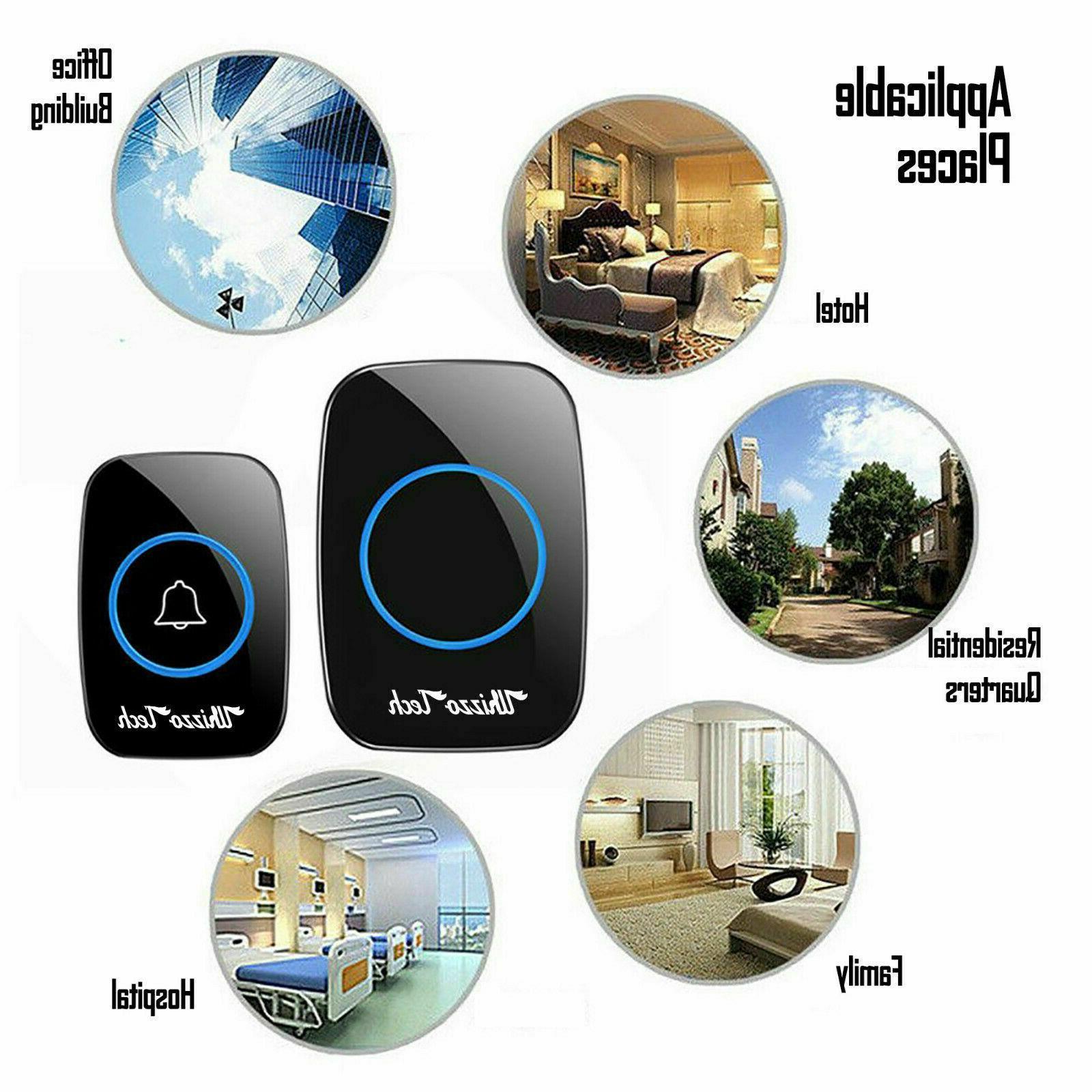 Wireless Door Bell 1Transmitter+1Plug in