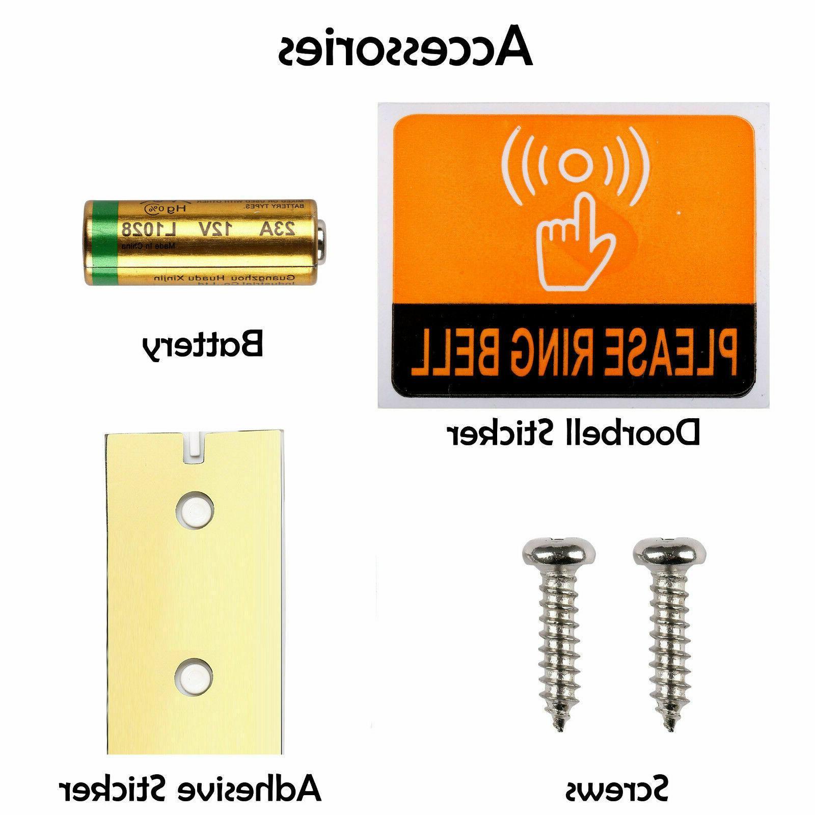 Wireless Doorbell Door in Receiver