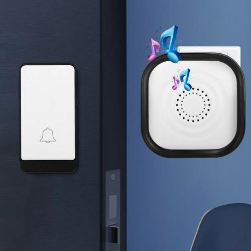 Wireless Doorbell Door Bell 2 Button+1 in