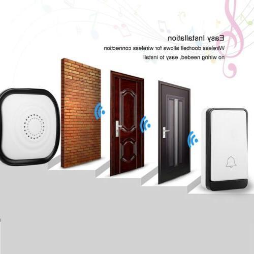 Wireless Doorbell Door Bell 2 Button+1