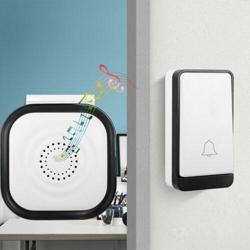 Wireless Doorbell Battery Door Bell Button+1