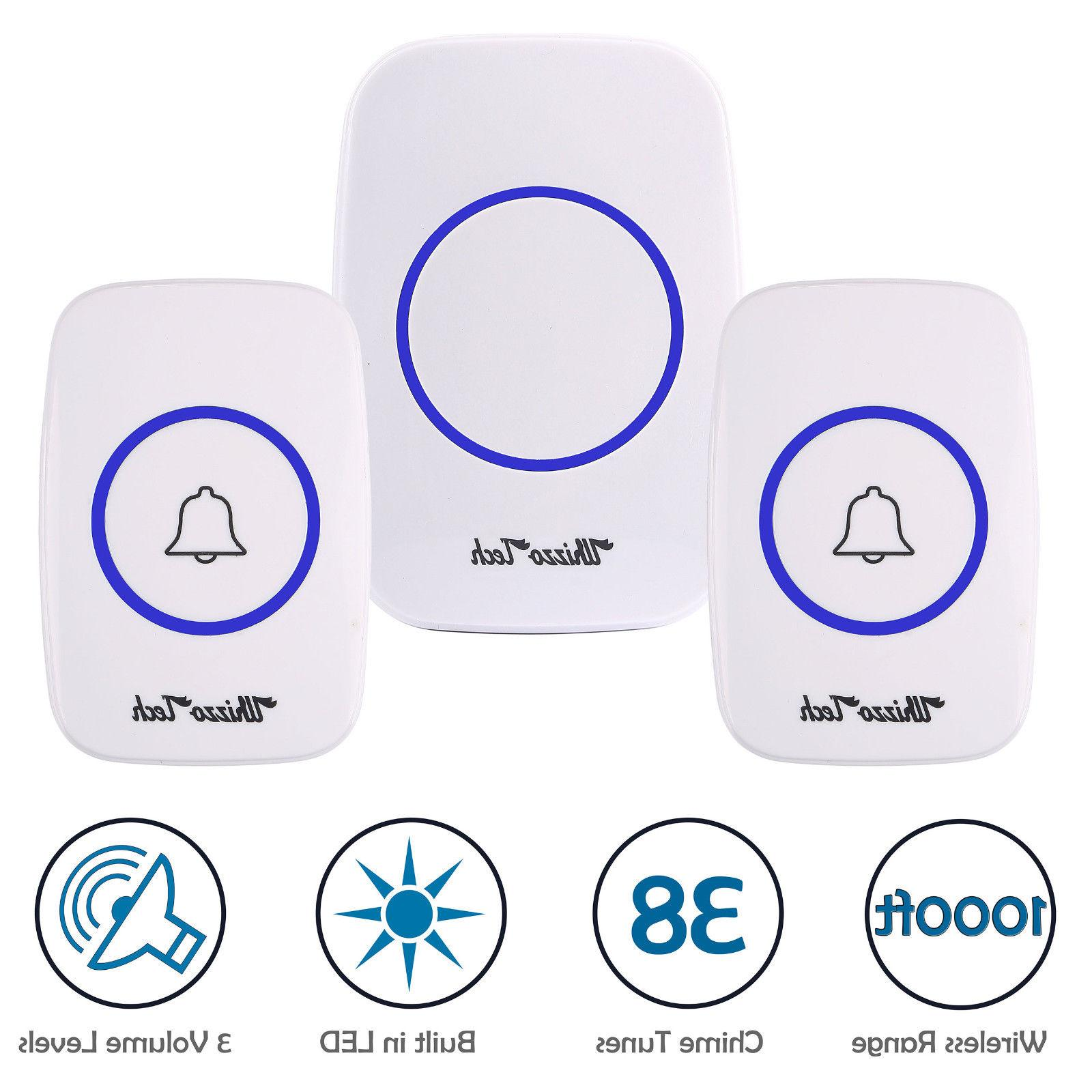 wireless doorbell battery operated door bell 2