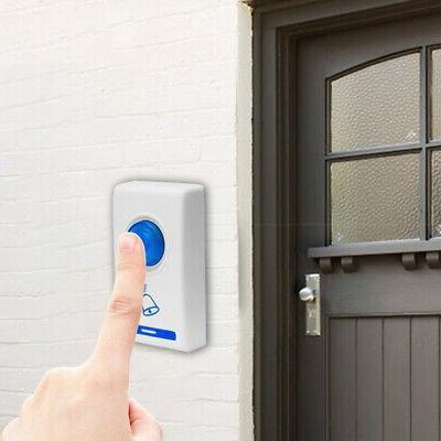 Wireless Battery Door Bell Flash 32 Range