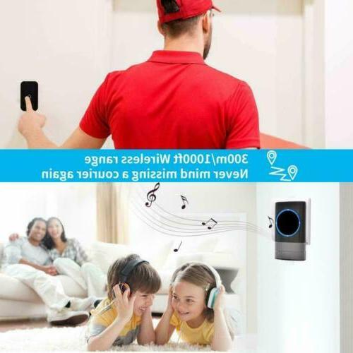 Wireless Doorbell Door Remote + Receiver