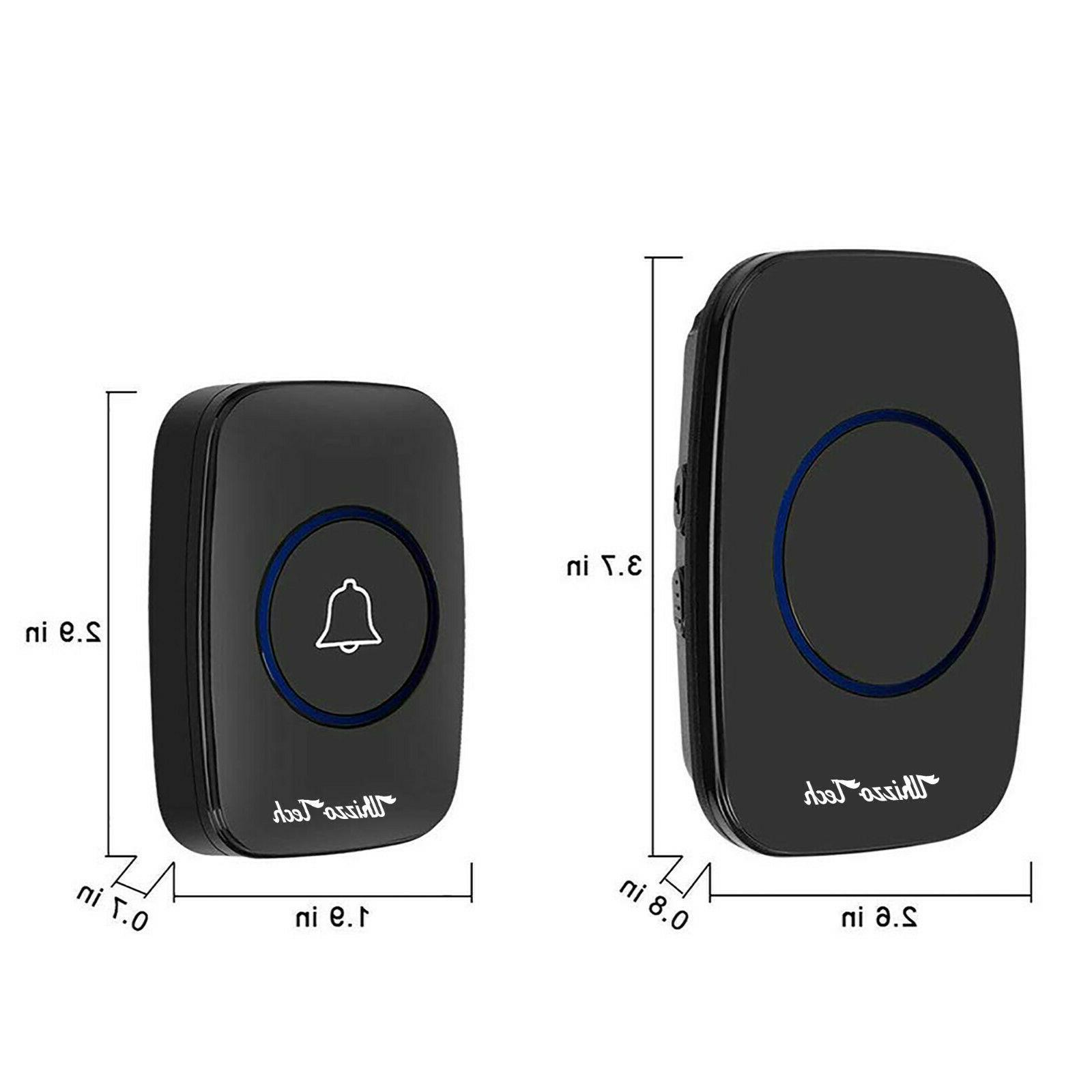 Wireless Doorbell Battery Door in
