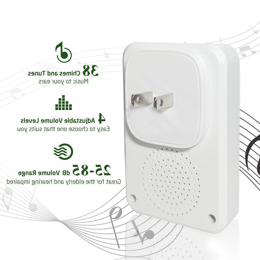 Wireless Doorbell Chime Waterproof plug-in Door