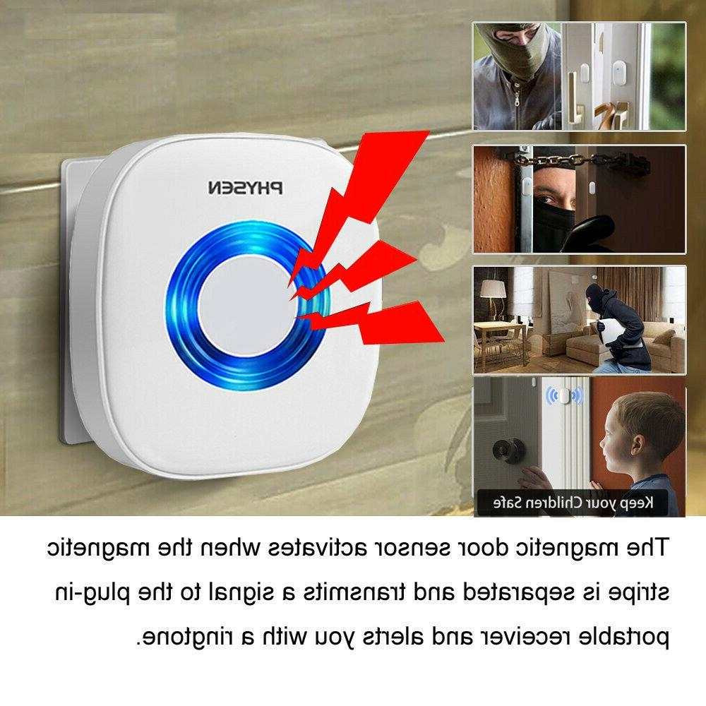 Wireless Sensor Chime & Receiver /Doorbell