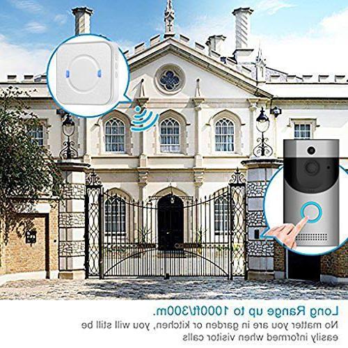 Wireless Indoor Doorbell, Adjustable US Plug