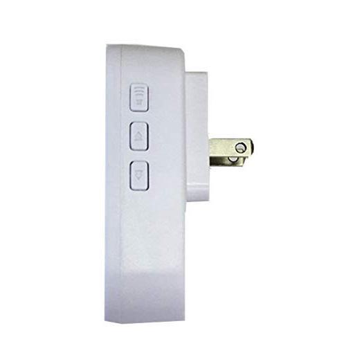 Wireless Indoor Doorbell, 5-level Adjustable US Plug