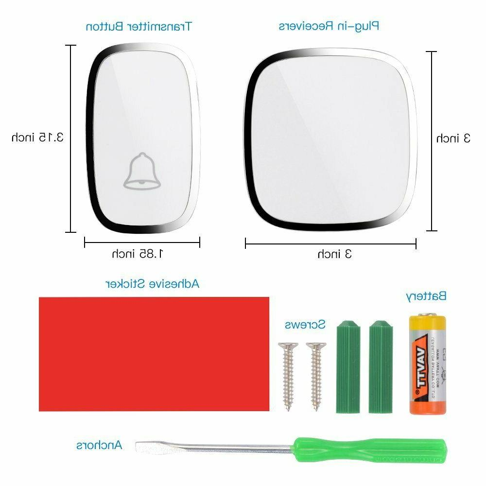 Wireless Chime Kit Door Bell Ring