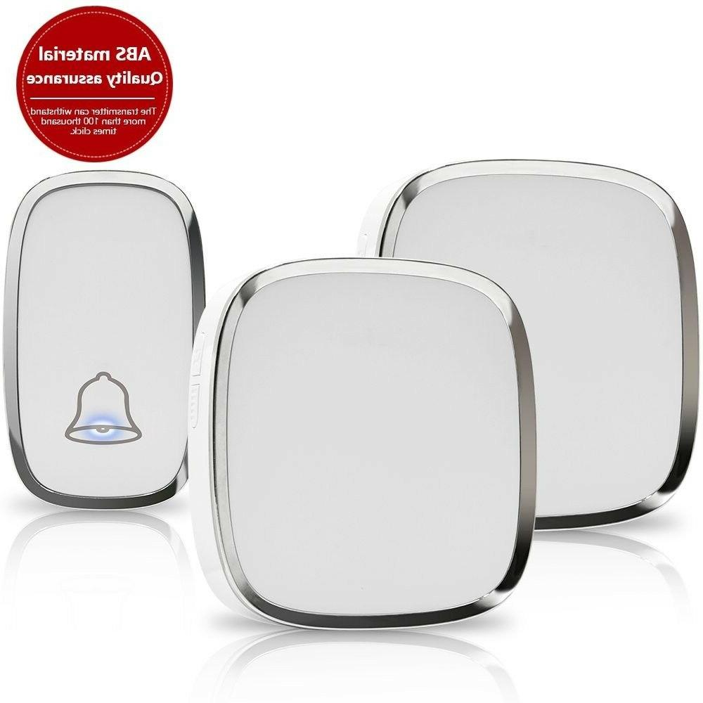 wireless doorbell chime push button