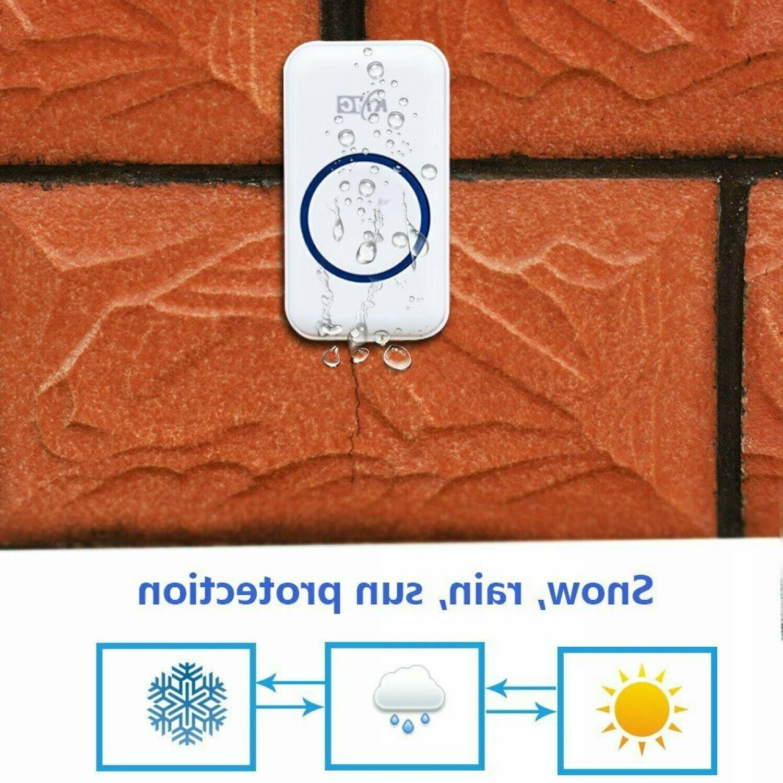 Wireless Doorbell Receiver Portable 500