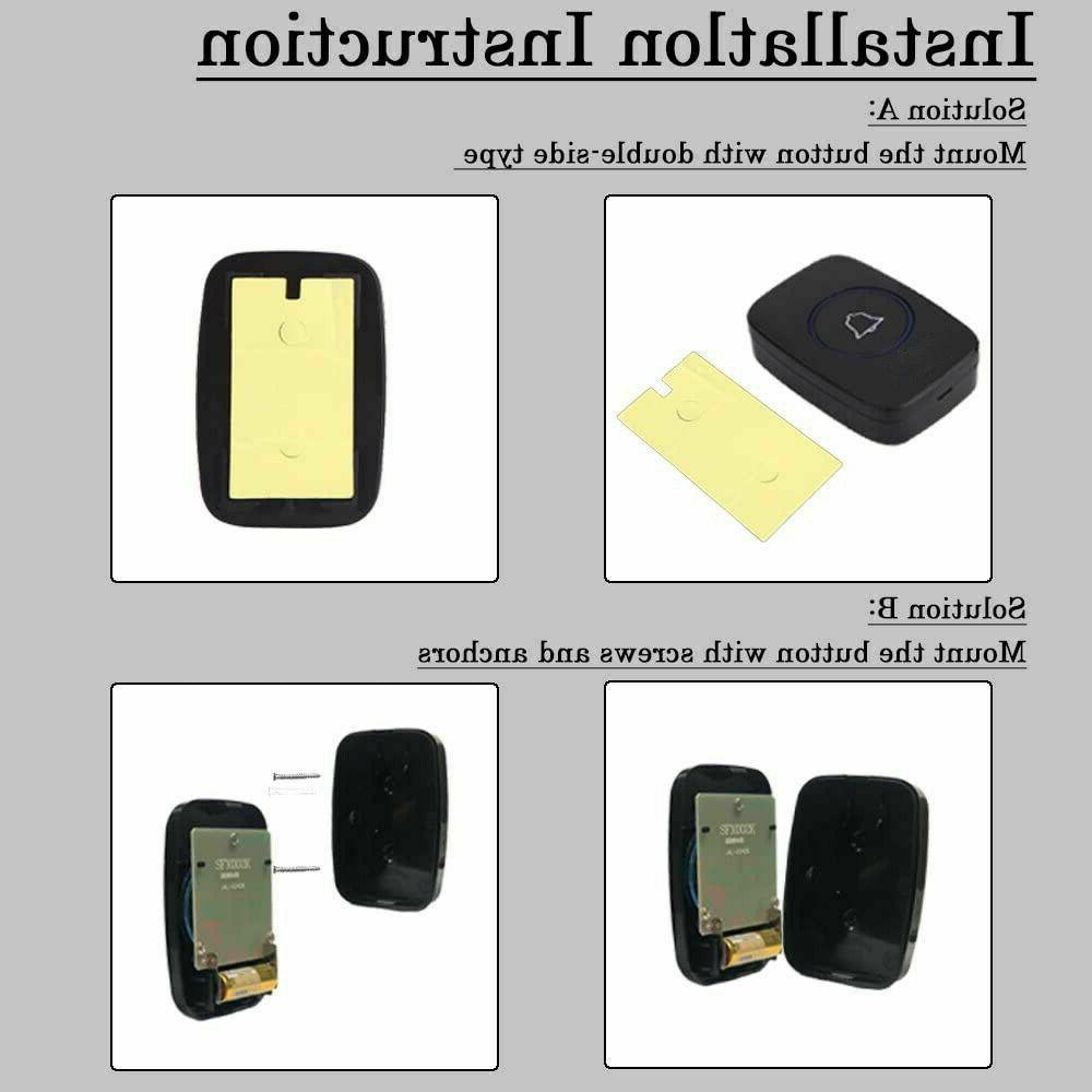 Wireless Plugin Receiver Adjustable Volume 1000FT
