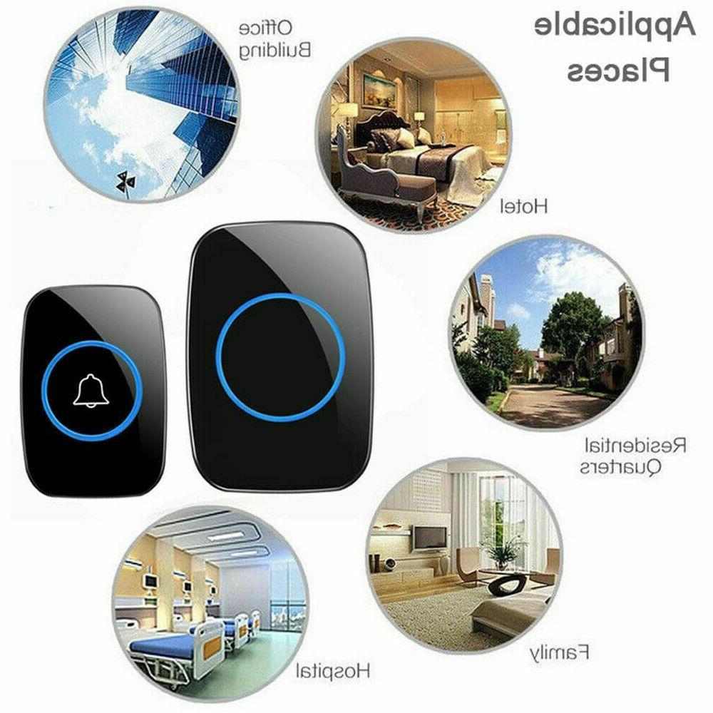 Wireless Doorbell Waterproof Plugin 1000FT