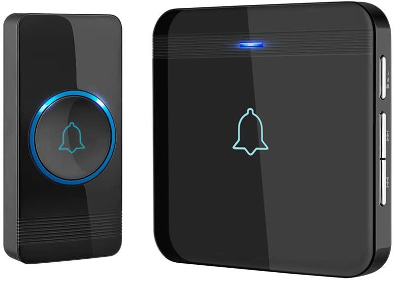 Wireless Doorbell, AVANTEK D-3G Waterproof Door Chime Kit Op
