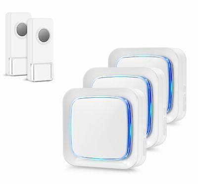 wireless doorbell door bell chime with 2