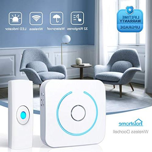 wireless doorbell door bell push