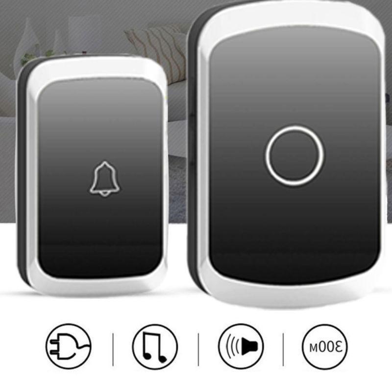 wireless doorbell door chime kit button receiver