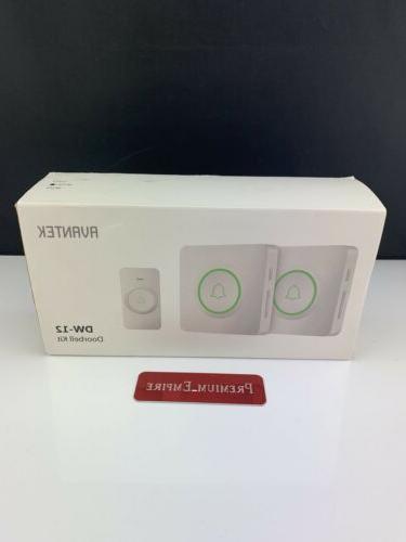 wireless doorbell dw 12 waterproof door chime