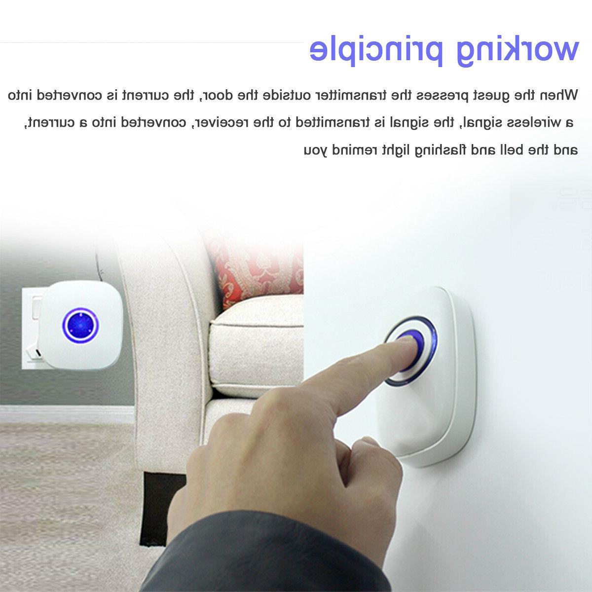Wireless Home Office 300M Control Chime
