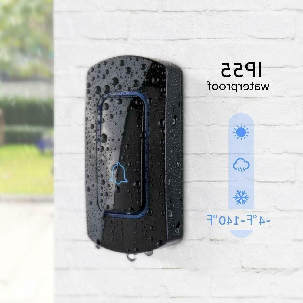 Wireless Doorbell Door Bell Operating 1300 Waterproof