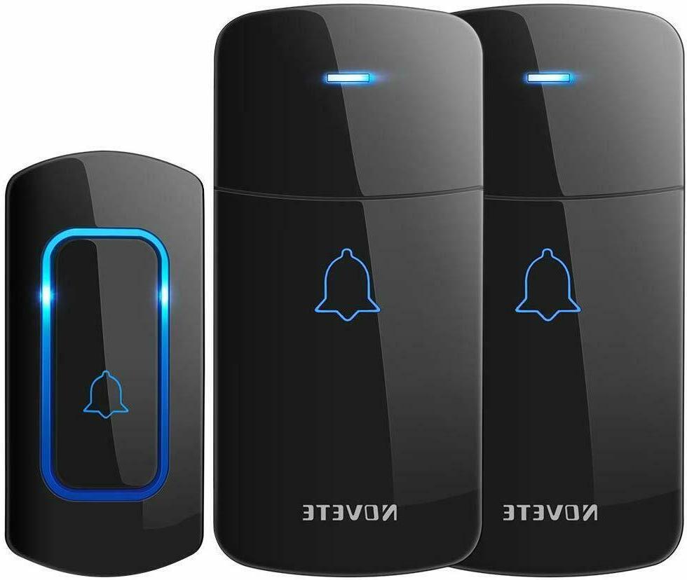 Wireless Doorbell Kit NOVETE/AVANTEK Door 1300 Ft