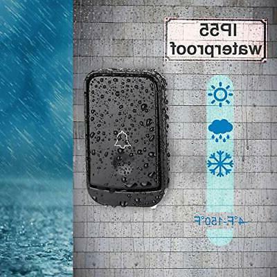 MUCH Doorbell Waterproof With 2 Receivers