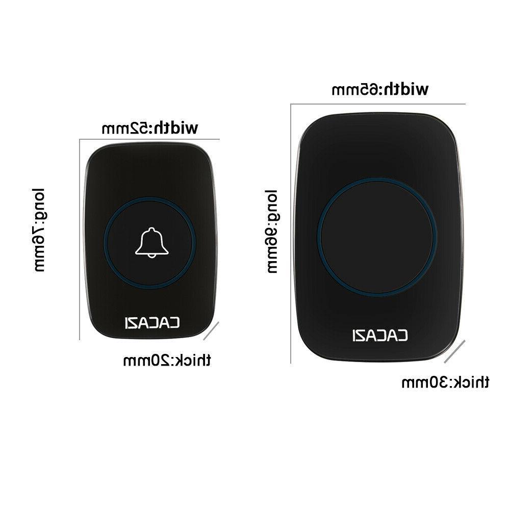 Wireless Doorbell Door Bell Plug-In