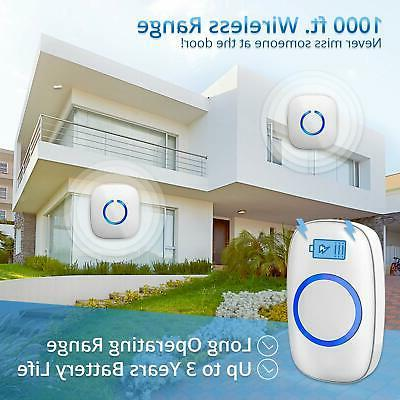 wireless doorbell over 1000 ft range 52